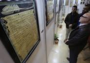 """افتتاح معرض """"لحن الحروف"""" بغزة"""