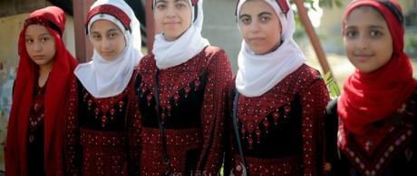 الزي الفلسطيني