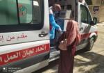 عيادة متنقلة للنساء في قطاع غزة