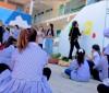طفلتان من رام الله ترسمان جداريات توعوية حول كورونا   فيديو