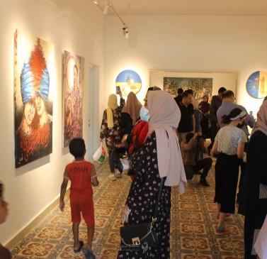 معرض الإقامات الفنية يقدّم ملاذًا للفن في غزة