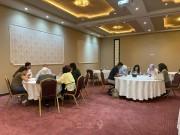 فلسطينيات تنظم يوم دعم نفسي للصحفيات في الضفة